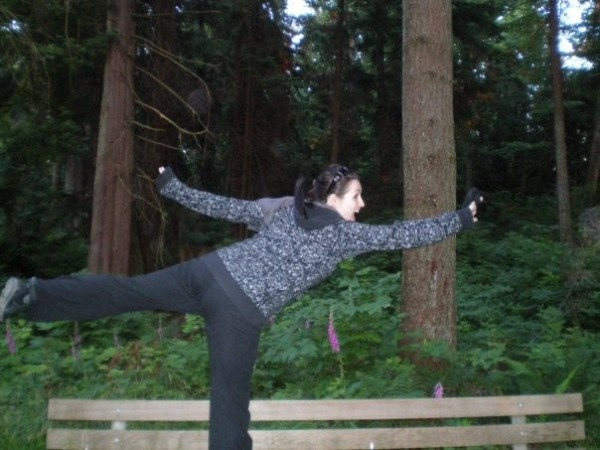 Dancing in Stanley Park