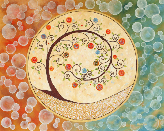 Circles of Love, Life and Beauty From artbyglorianna