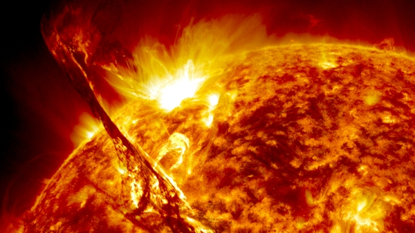 Photo from NASA's Solar Dynamics Observatory (SDO) by Dr. Alex C. Young